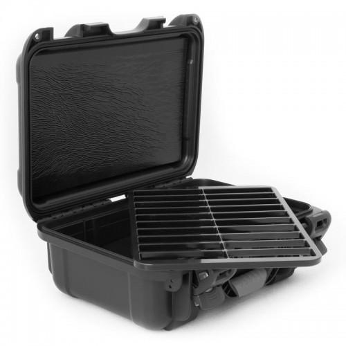 LTO - 20 Capacity with Jewel Waterproof TeraTurtle Turtle Case open