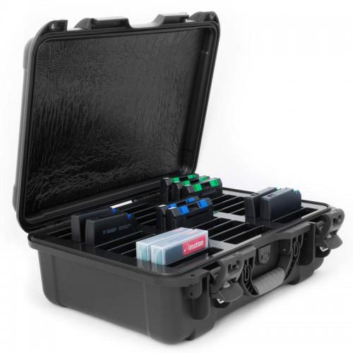 LTO - 30 Capacity Waterproof TeraTurtle  Turtle Case full