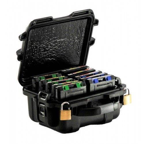 3592 - 10 Capacity TeraTurtle Waterproof Turtle Case full