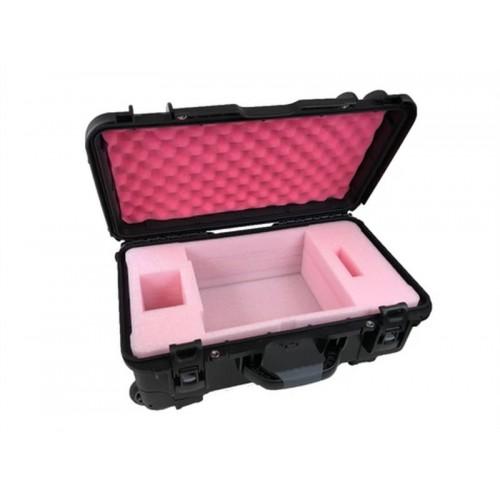 G-SPEED Shuttle 4 Drive RAID  - 1 Capacity Wheeled Waterproof Turtle case open