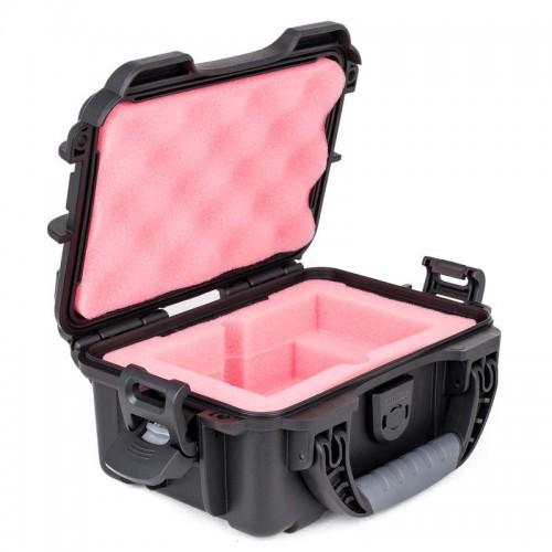 G-DRIVE ev RaW & LaCie Rugged - 1 Capacity Waterproof Turtle case open