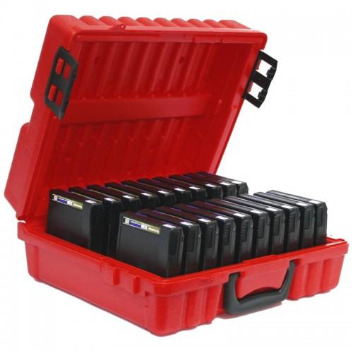 3480 & 3490E & 3590 - 20 capacity Turtle Case full
