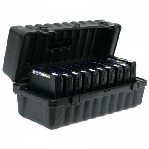 3480 & 3490E & 3590 - 10 capacity Turtle Case full