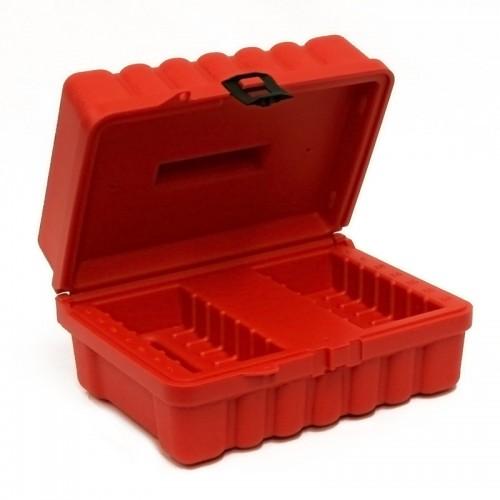 4MM & DAT- 14 Capacity Turtle Case open