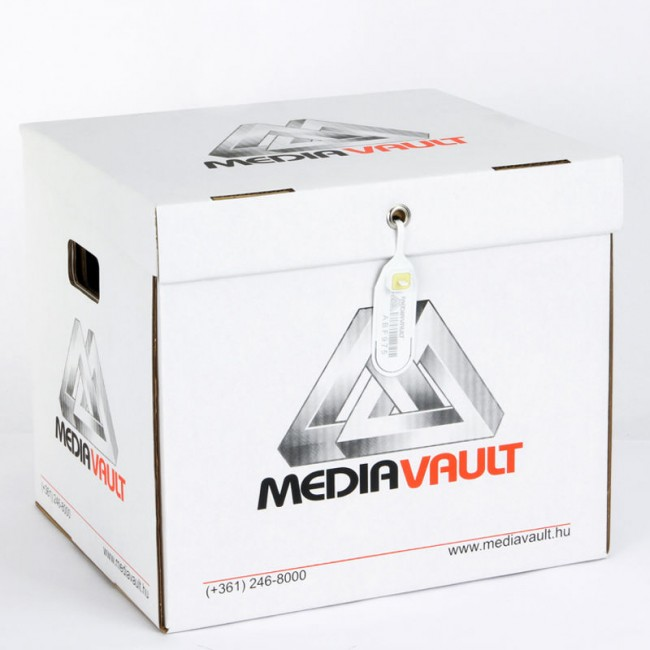 LocPaperBox document & file storage box MediaVault sealed