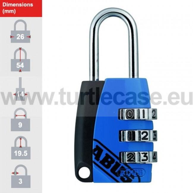 155/20 Blue ABUS Padlock