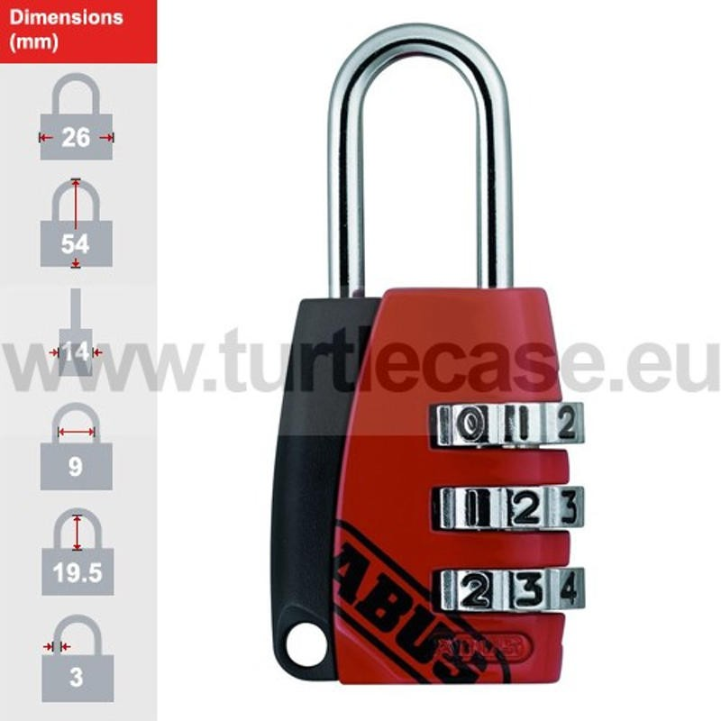 ABUS 155/20 Red