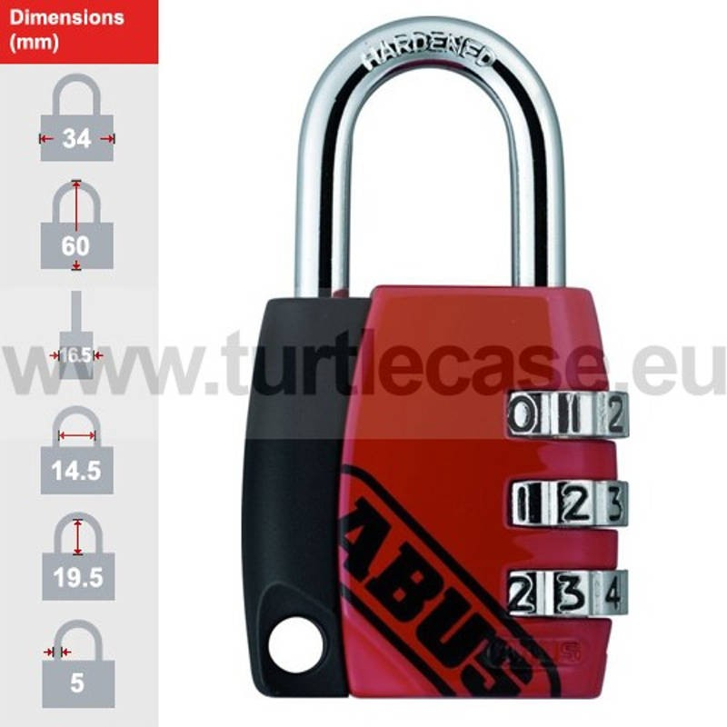 ABUS 155/30 Red