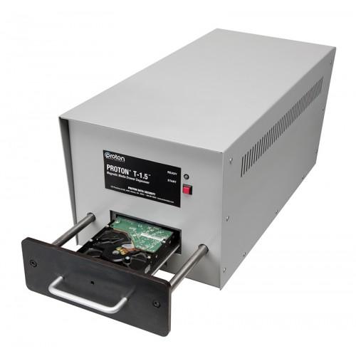 T-1.5 LTO & Hard Drive HDD Degausser Proton open