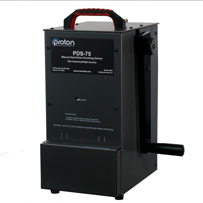 PDS-75 Hard Drive HDD Destroyer Proton