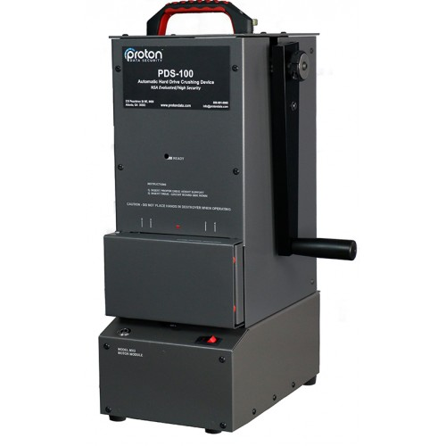 PDS-100 Hard Drive HDD Crusher Proton
