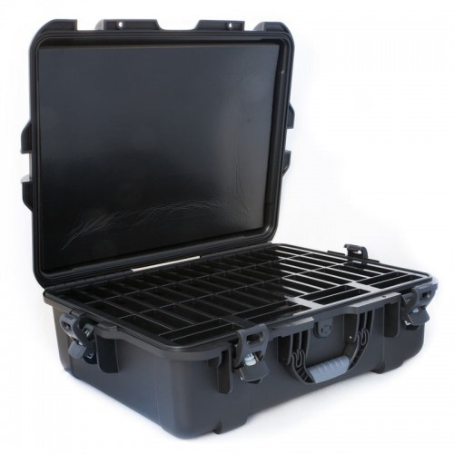 3592 - 50 Capacity Waterproof Turtle Case open