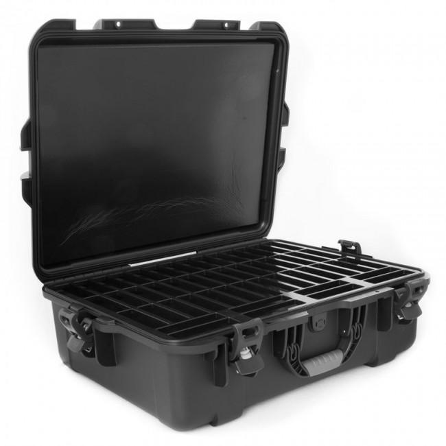 LTO - 50 Capacity Waterproof TeraTurtle Turtle Case open