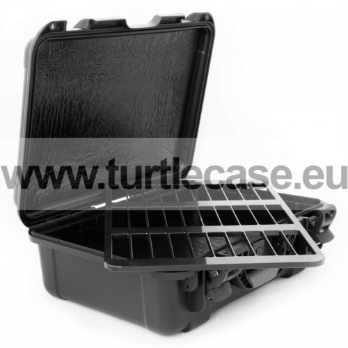 3592 - 30 Capacity TeraTurtle Waterproof Turtle Case open