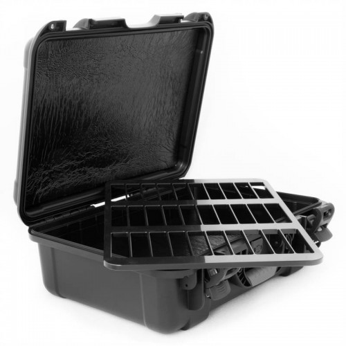 LTO - 30 Capacity Waterproof TeraTurtle  Turtle Case open
