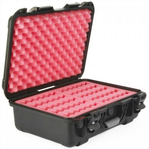 """3.5"""" Hard Drive HDD - 10 Capacity Long Slots Waterproof HD-10 Turtle Case open"""