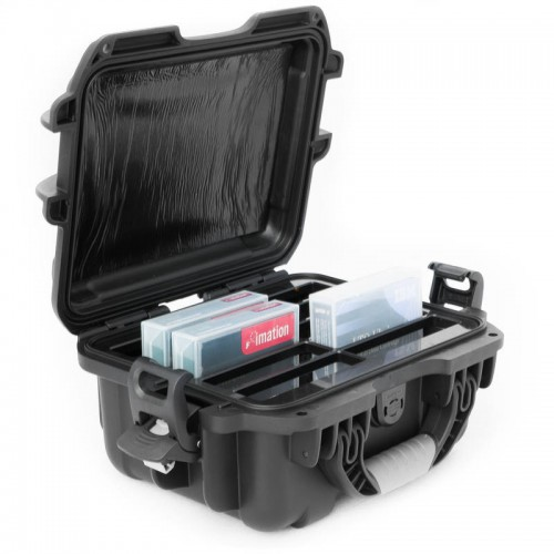 LTO - 10 Capacity TeraTurtle Waterproof Turtle Case full
