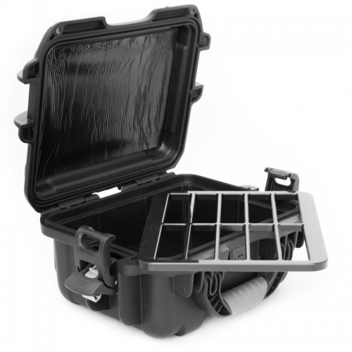 LTO - 10 Capacity TeraTurtle Waterproof Turtle Case open