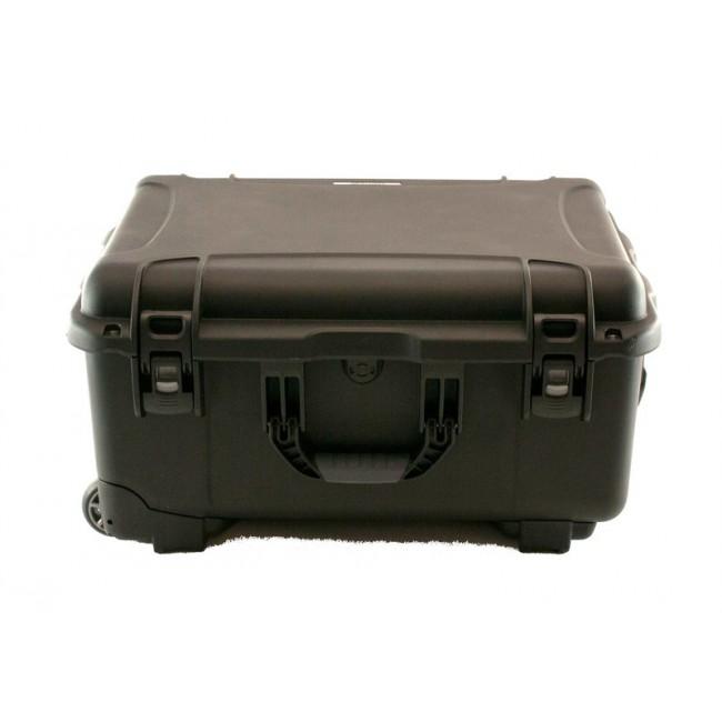 "3.5"" Hard Drive HDD - 30 Capacity Long Slots Wheeled Waterproof Turtle Case closed"