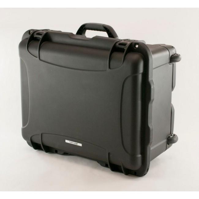 "3.5"" Hard Drive HDD - 30 Capacity Long Slots Wheeled Waterproof Turtle Case top"