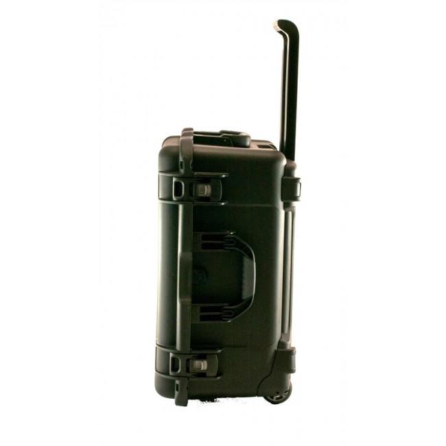 "3.5"" Hard Drive HDD - 30 Capacity Long Slots Wheeled Waterproof Turtle Case side"