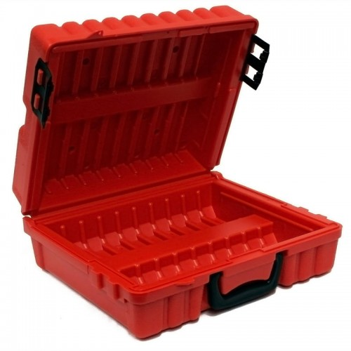 3480 & 3490E & 3590 - 20 capacity Turtle Case open