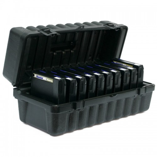 3480 & 3490E & 3590 - 10 capacity Turtle Case full