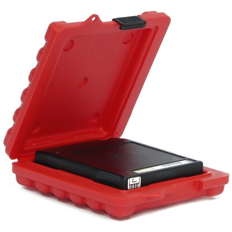 3592 & T10000 Mailer - 1 Capacity Turtle Case full