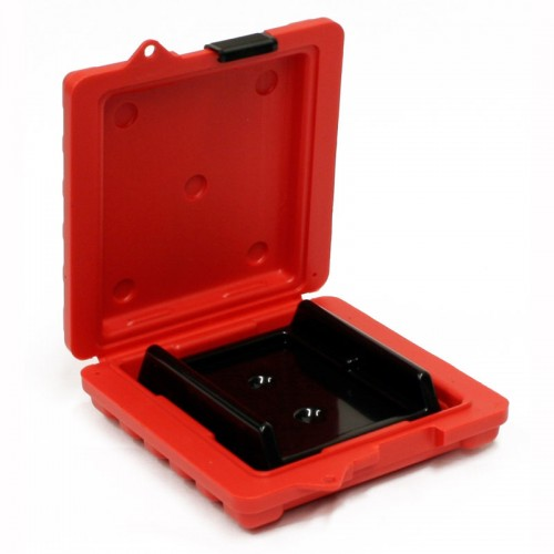 4MM & DAT - 2 Capacity / 8MM - 1 Capacity Turtle Case open