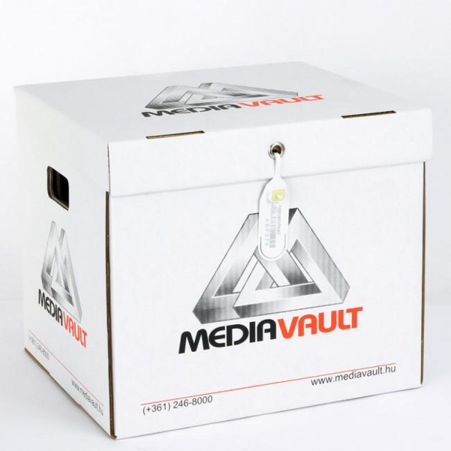 LocPaperBox document & file storage box MediaVault sealed