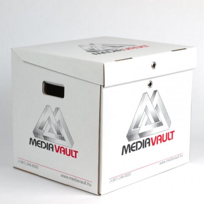 LocPaperBox document & file storage box MediaVault closed