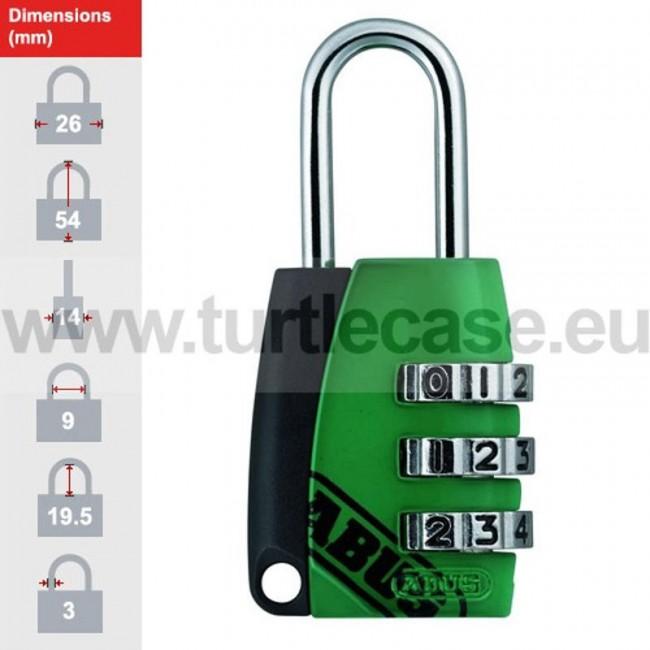 155/20 Green ABUS Padlock