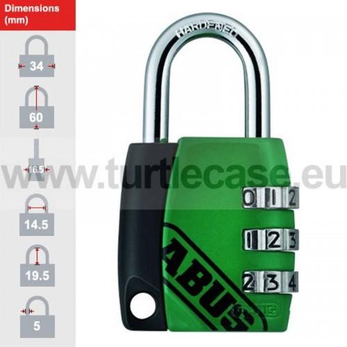 155/30 Green ABUS Padlock