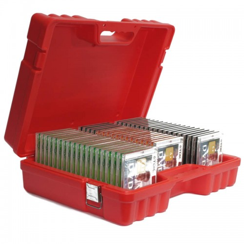 CD & DVD - 55 Capacity Turtle Case full