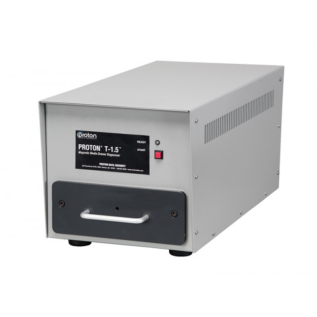 T-1.5 LTO & Hard Drive HDD Degausser Proton closed