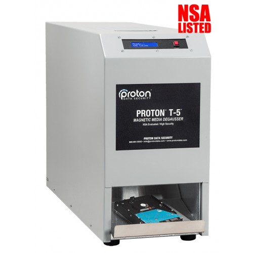 T-5 LTO & Hard Drive HDD Degausser Proton