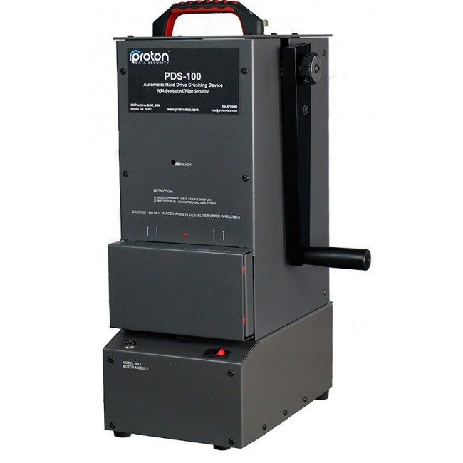 PDS-100 Hard Drive HDD Crusher Proton