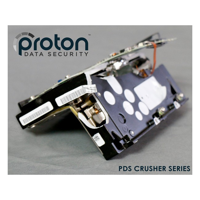 PDS-100 Hard Drive HDD Crusher Proton HDD