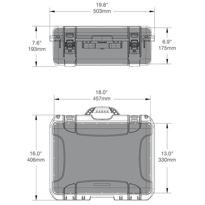 039 turtle case specifications