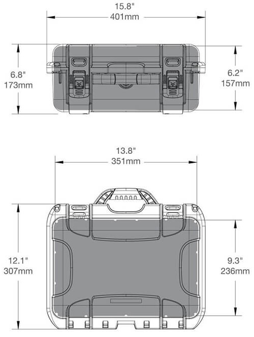 519 turtle case specifications
