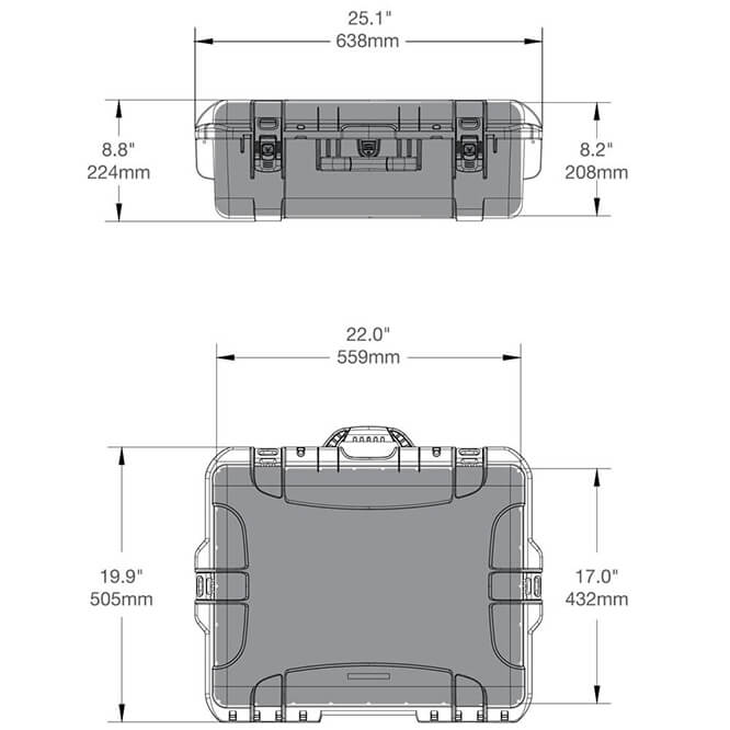 549 turtle case specifications