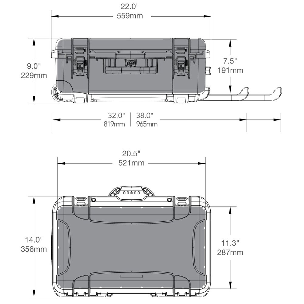 735 turtle case specifications